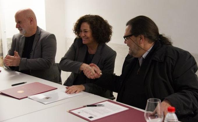 convenio Universidad de Granada y la Fundación Arquitectura Contemporánea