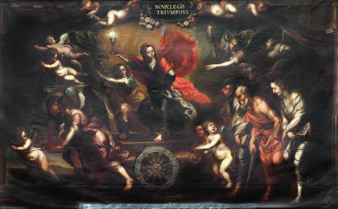 estudio de copias pictóricas de la Escuela Flamenca
