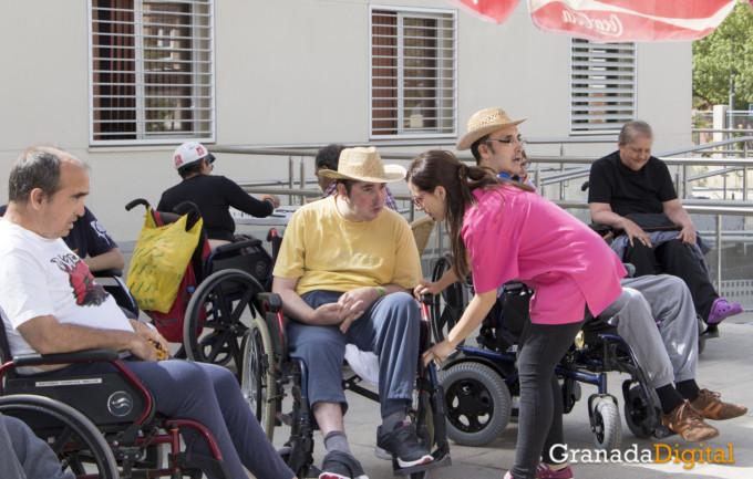 ASPAYM, personas parapléjicas y grandes discapacitados granada