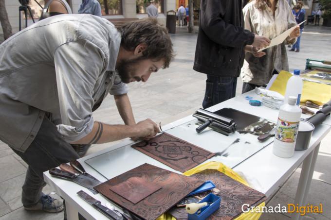 estampados y grabados Escuela de Arte de Granada