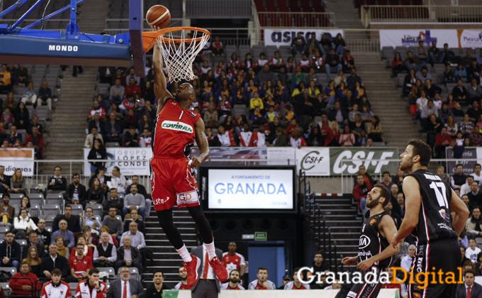 Fundacion CB Granada - Kia Sakimovil Basket Navarra