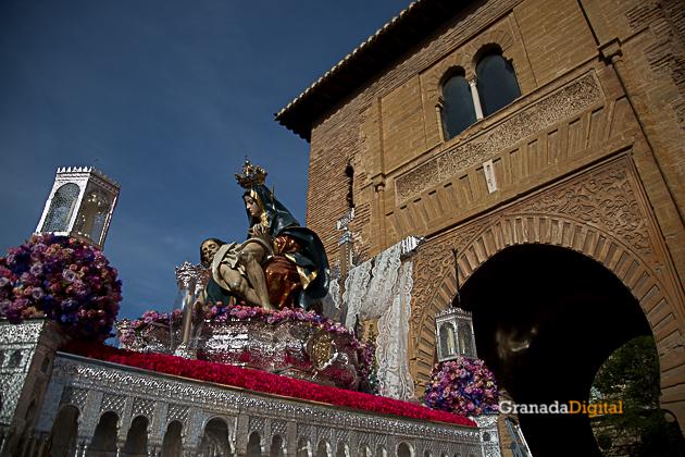 Semana Santa Sabado Gloria 2017 Santa María de la Alhambra-15