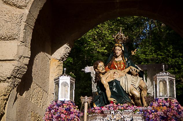 Semana Santa Sabado Gloria 2017 Santa María de la Alhambra-27