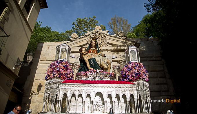 Semana Santa Sabado Gloria 2017 Santa María de la Alhambra-28