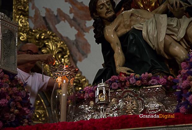 Semana Santa Sabado Gloria 2017 Santa María de la Alhambra