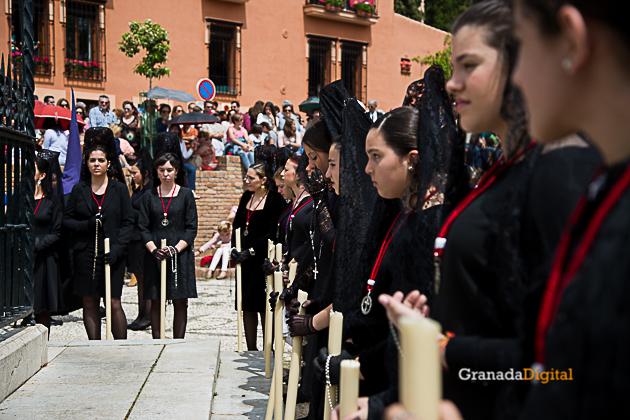Semana Santa Viernes Santo 2017 Tres Favores Soledad-3