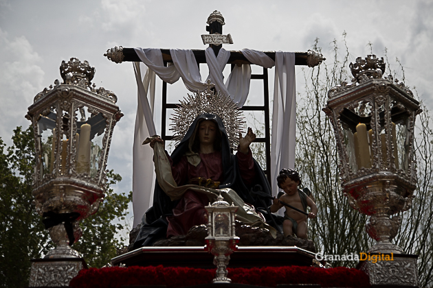Semana Santa Viernes Santo 2017 Tres Favores Soledad-5