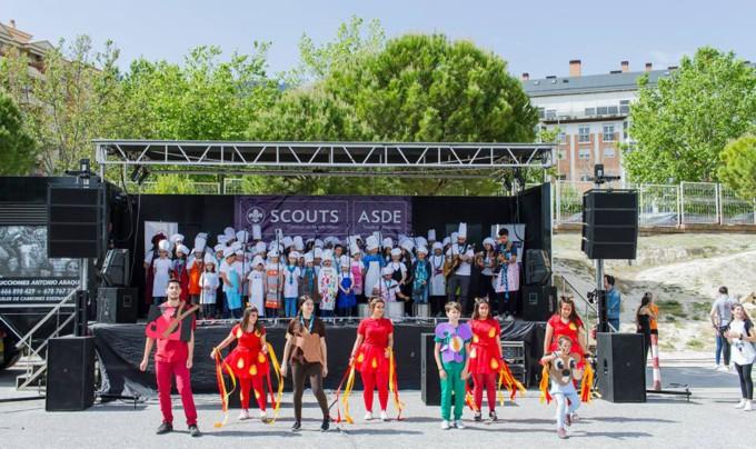 Festival de la canción scout Granada 1