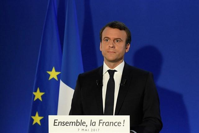 macron presidente de francia