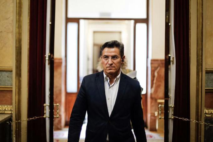 Luis Salvador, en el Congreso de los Diputados