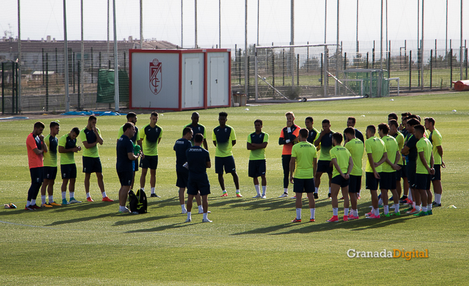 Granada CF pretemporada 2017 primer entreno-13