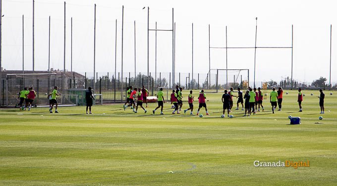 Granada CF pretemporada 2017 primer entreno-14