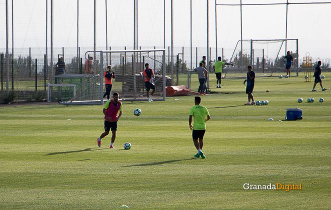 Granada CF pretemporada 2017 primer entreno-17 antonio puertas