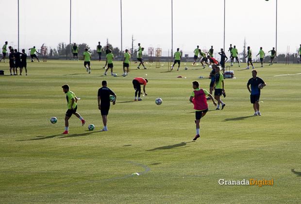 Granada CF pretemporada 2017 primer entreno-18