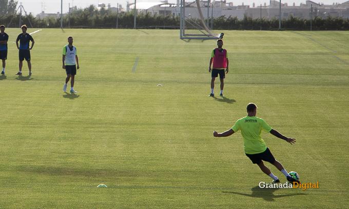 Granada CF pretemporada 2017 primer entreno-19 saunier