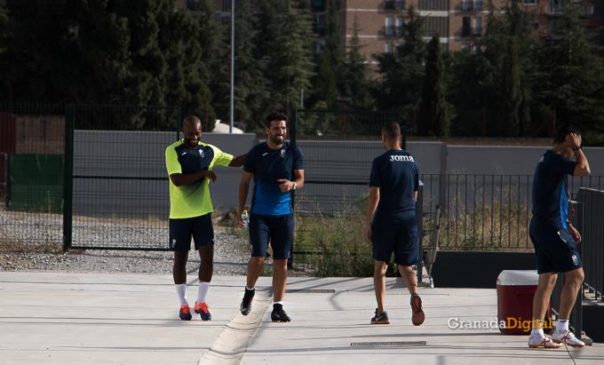 Granada CF pretemporada 2017 primer entreno-2 Foulquier Lucena