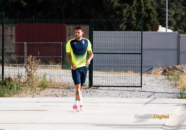 Granada CF pretemporada 2017 primer entreno-5 Quini