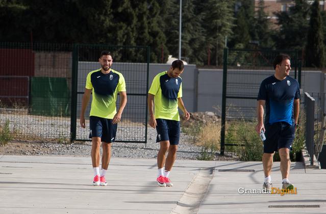 Granada CF pretemporada 2017 primer entreno-7 puertas victor díaz