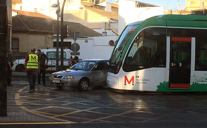 Accidente metro maracena