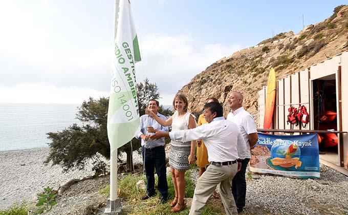 Bandera verde de gestión medioambiental La Rijana