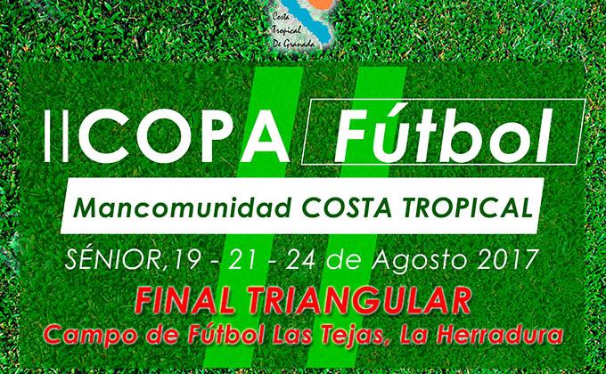 Cartel II Copa Mancomunidad Costa Tropical futbol