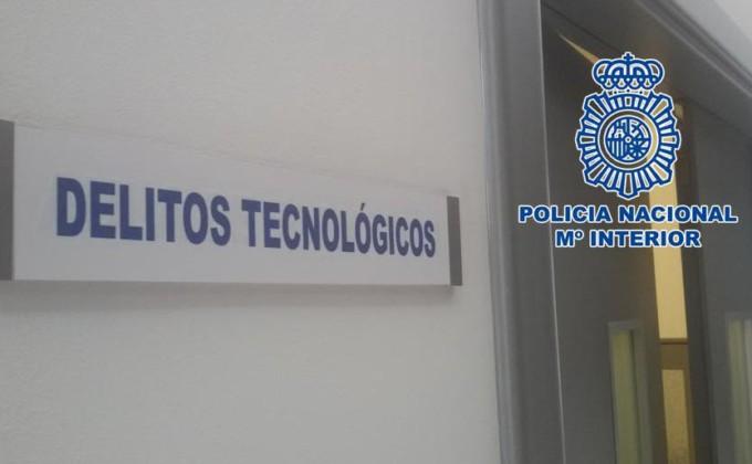 Delitos tecnológicos Policia Nacional
