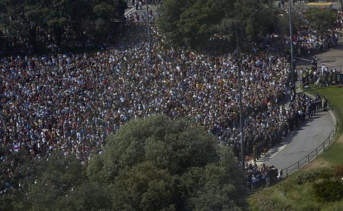 barcelona plaza cataluña atentados