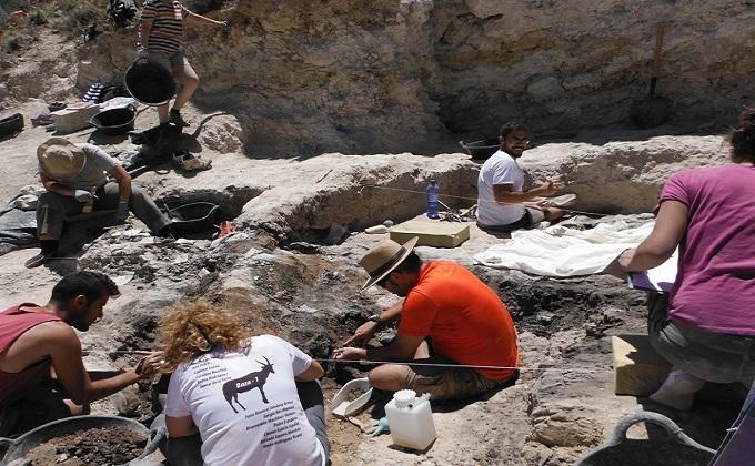 excavacion yacimiento Baza