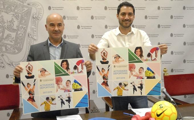Carlos Melero y Eduardo Castillo en la presentación del Programa de Acti...
