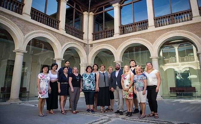 Delegacion eslovaquia