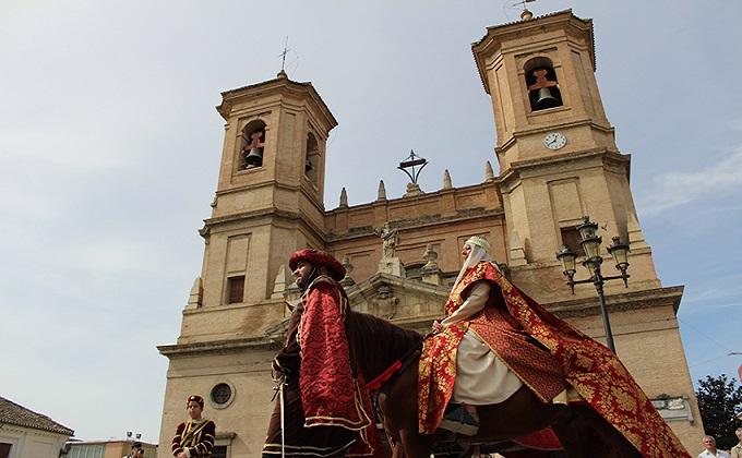 Santa Fe Acto 2 de octubre 2017 Reyes Catolicos