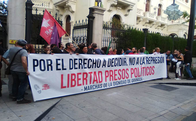 marcha cataluña granada