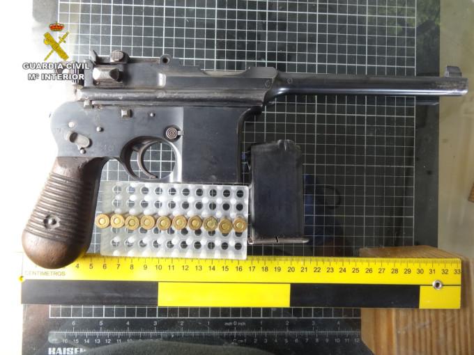 pistola ametralladora