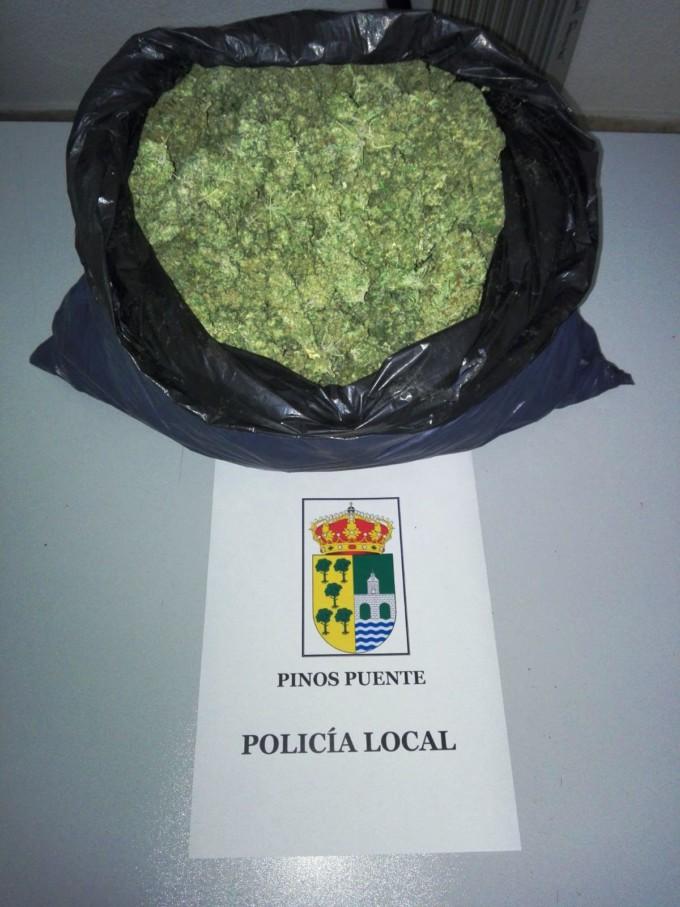 KILOGRAMO DE MARIHUANA PINOS PUENTE