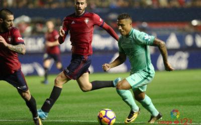 El Granada CF consigue el liderato en El Sadar (0-0)