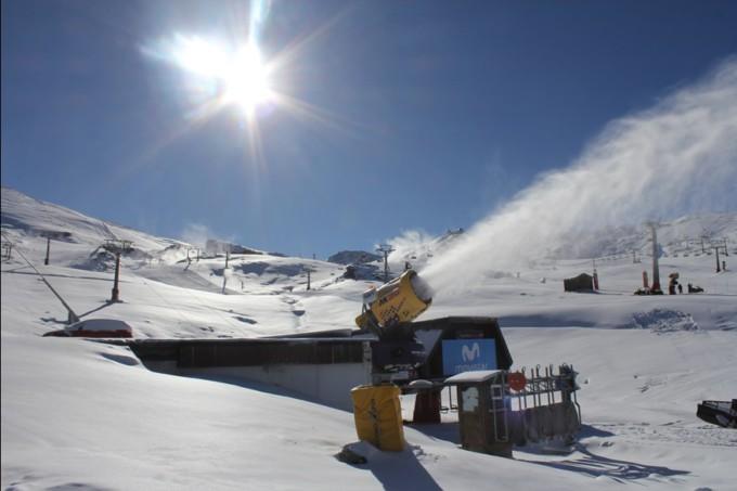 sierra nevada cañones nieve