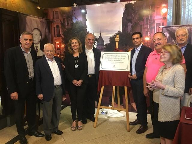 El Ayuntamiento homenajea a García Lorca en Buenos Aires e impulsa una «ruta lorquiana» por el mundo