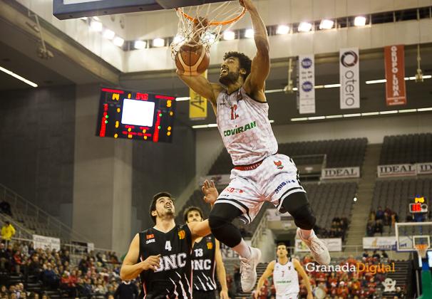 Fundacion CB Granada Coviran - Basket Navarra-4