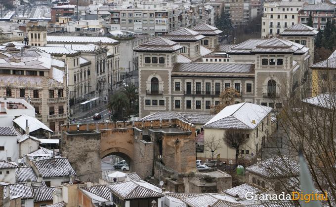 Primera nevada del año en Granada 01