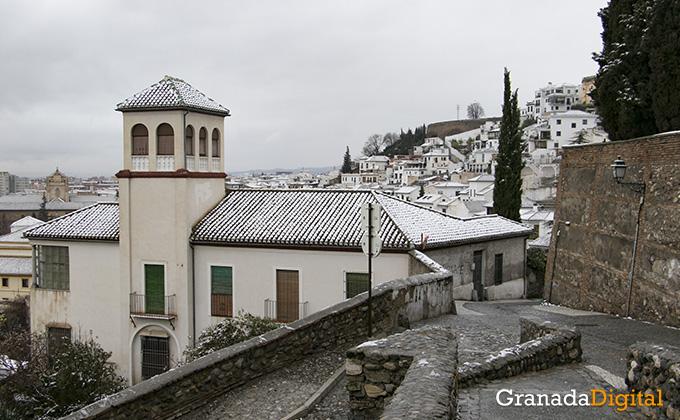 Primera nevada del año en Granada 02