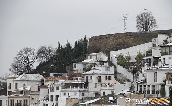 Primera nevada del año en Granada 03