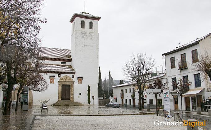 Primera nevada del año en Granada 09