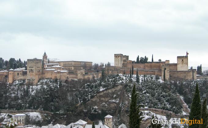 Primera nevada del año en Granada 10
