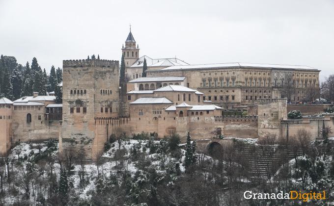 Primera nevada del año en Granada 11