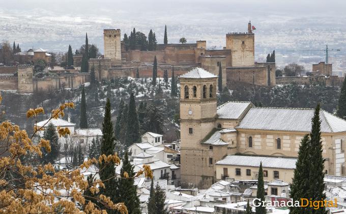 Primera nevada del año en Granada 12