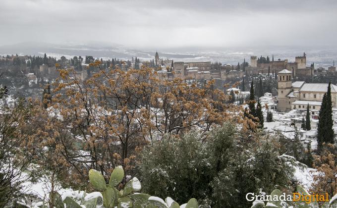 Primera nevada del año en Granada 13