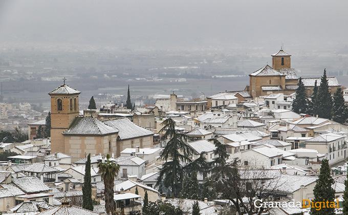 Primera nevada del año en Granada 14