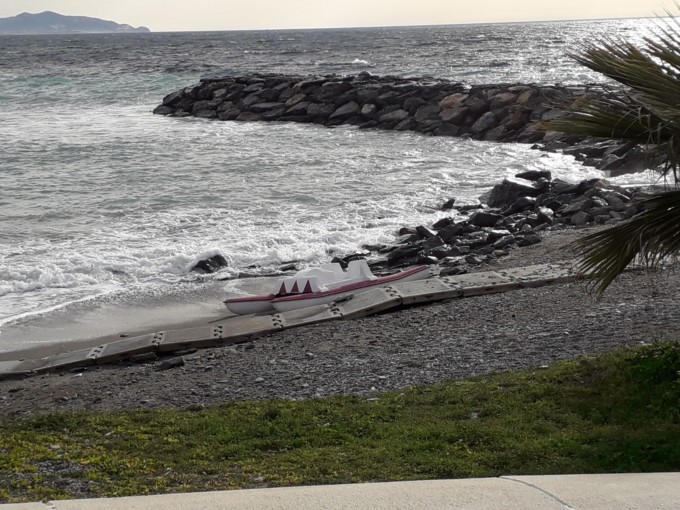 Se mantiene este jueves el aviso amarillo por fenómenos costeros en Granada