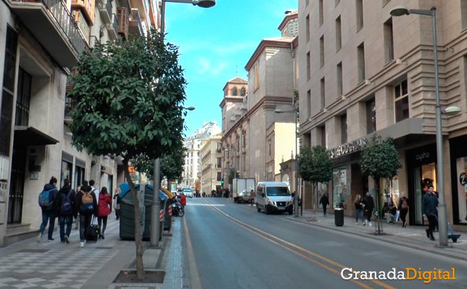Comercios calle recogidas granada