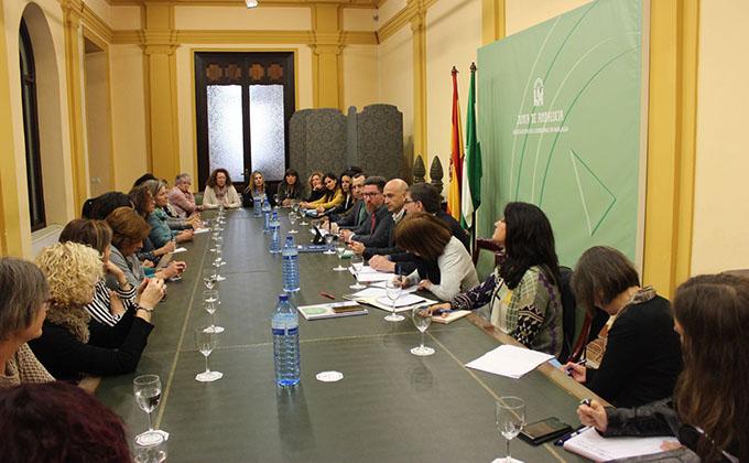 Reunión con mujeres pesca en Málaga (12-01-18)
